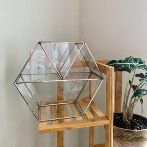 Home Decor - hexagon shelf